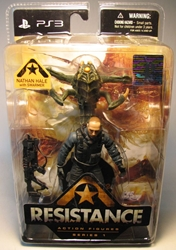 DC Unlimited Resistance Ser 1 - Nathan Hale 4.75 inch DC Unlimited, Resistance, Action Figures, 2009, scifi, video game