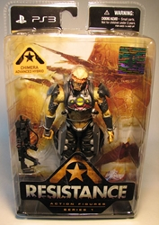 DC Unlimited Resistance Ser 1 - Chimera 5.75 inch DC Unlimited, Resistance, Action Figures, 2009, scifi, video game