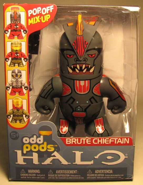 McFarlane Halo Odd Pods - Brute Chieftain McFarlane, Halo, Action Figures, 2009, scifi, video game