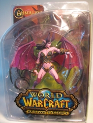 World of Warcraft Series 4 Amberlash Sexy Demon DC Direct, Warcraft, Action Figures, 2009, fantasy, video game