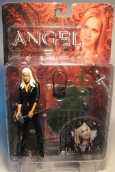 Diamond Select Angel 6 inch Season 2 Darla (in black) Diamond Select, Angel, Action Figures, 2004, vampires, tv show
