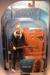 Stargate Atlantis - Wraith (black suit) 6.8 inch 2007 Diamond Select, Stargate, Action Figures, 2007, scifi, tv show, movie