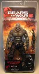 Gears of War 2 NECA 7 inch Grenadier Lambent SDCC 2009 NECA, Gears of War, Action Figures, 2009, scifi, video game