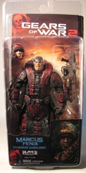 Gears of War 2 NECA 7 inch Marcus Theron Disguise NECA, Gears of War, Action Figures, 2009, scifi, video game
