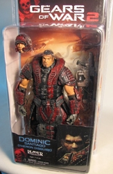 Gears of War 2 NECA 7 inch Dominic Theron Disguise NECA, Gears of War, Action Figures, 2009, scifi, video game