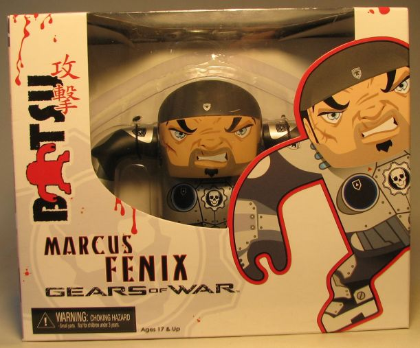 NECA Gears of War 4.5 inch Batsu Marcus Fenix NECA, Gears of War, Action Figures, 2009, scifi, video game