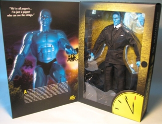 Watchmen 12 inch Deluxe Collector Figure Dr Manhattan DC Direct, Watchmen, Action Figures, 2009, scifi, comic book