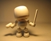 Shocker Toys 5 inch Mallows  - Blank (all white) - 109-4324CCCUGT