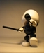 Shocker Toys 5 inch Mallows  - Blank (BW white head) - 112-4326CCCUGT