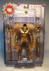 DC Direct Armory Series Aquaman 6.6 inch figure (gold) DC Direct, Aquaman, Action Figures, 2008, superhero, comic book