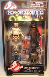 Diamond Minimates Ghostbusters 4-pack (of ghosts) Diamond Select, Ghostbusters, Action Figures, 2009, fantasy, conedy, movie