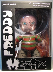 Mezco Mez-itz Nightmare on Elm Street Freddy 6 inch Mezco, Nightmare on Elm Street, Action Figures, 2010, horror, halloween, movie