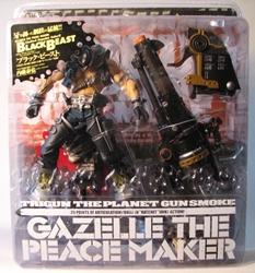 Kaiyodo Trigun Gazelle the Peacemaker Black Beast ver