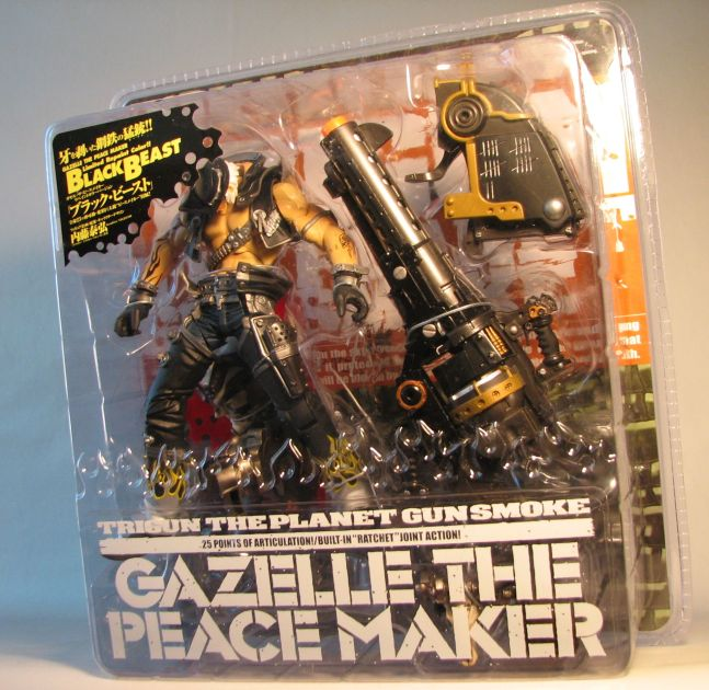 Kaiyodo Trigun Gazelle the Peacemaker Black Beast ver - 5421-3715CCTHAA