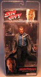 NECA Sin City Ser 1 Hartigan color (Bruce Willis) NECA, Sin City, Action Figures, 2005, crime, comic book