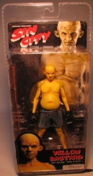 NECA Sin City Ser 1 Yellow Bastard (mouth closed) NECA, Sin City, Action Figures, 2005, crime, comic book
