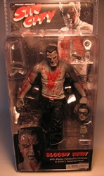 NECA Sin City Ser 2 Bloody Marv BW (Mickey Rourke) NECA, Sin City, Action Figures, 2005, crime, comic book