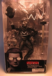 NECA Sin City Ser 2 BW Kevin w Victim Head (E Wood) NECA, Sin City, Action Figures, 2005, crime, comic book