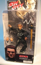 NECA Sin City Ser 2 Color Kevin (Elijah Wood) NECA, Sin City, Action Figures, 2005, crime, comic book