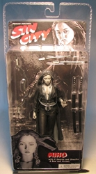 NECA Sin City Ser 2 Sexy Miho BW (Devon Aoki) NECA, Sin City, Action Figures, 2005, crime, comic book