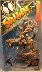 McFarlane Spawn 07 Scourge (beast skeleton) 1996 McFarlane, Spawn, Action Figures, 1996, superhero, comic book