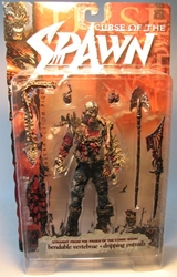 McFarlane Spawn 13 Hatchet (undead)  1998 McFarlane, Spawn, Action Figures, 1998, superhero, comic book
