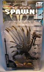 McFarlane Spawn 15 Techno Series Iron Express (ostrich) McFarlane, Spawn, Action Figures, 1999, superhero, comic book