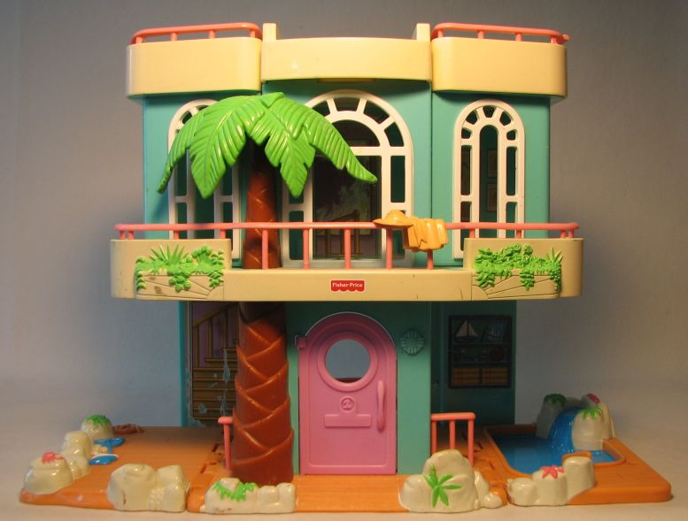 Fisher-Price Sweet Streets Beach House LOOSE