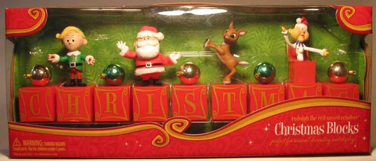 Rudolph The Red-Nosed Reindeer - Christmas Blocks Forever Fun, Rudolph, Action Figures, 2010, Christmas, tv show