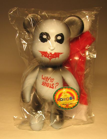 Popobe 5 inch Vinyl Why So Serious Christmas Bear Popobe, Christmas, Action Figures, 2010, family, movie