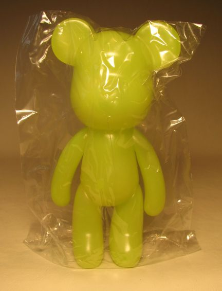 Popobe 5 inch Vinyl Lemon Jello Bear Popobe, Popobe Bear, Action Figures, 2010, vinyl