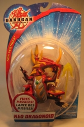 Bakugan 5 inch figure - Neo Dragonoid Spin Master, Bakugan, Action Figures, 2009, fantasy, game