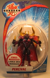 Bakugan 5 inch figure - Percival Spin Master, Bakugan, Action Figures, 2009, fantasy, game