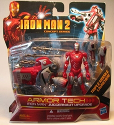 Iron Man 2 Armor Tech Iron Man Juggernaut Upgrade
