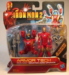 Iron Man 2 Armor Tech Iron Man Negative Zone Upgrade