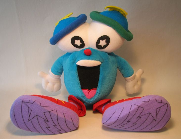 Atlanta 1996 Olympic Games Izzy 15 in plush (star-eyes)