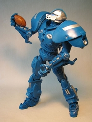 Fox Sports 10 inch Robot for NFL Detroit Lions Foam Fanatics, Fox Sports, Action Figures, 2009, sports, pro league