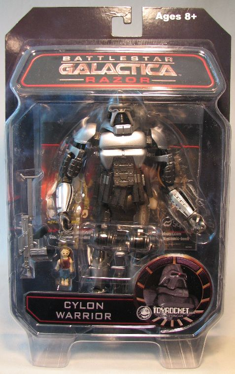 Diamond Select Battlestar Galactica Cylon Warrior ToyRocket Diamond Select, Battlestar Galactica, Action Figures, 2009, scifi, tv show