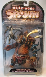 McFarlane Spawn 11 Dark Ages Series The Ogre NOT MINT McFarlane, Spawn, Action Figures, 1998, superhero, comic book