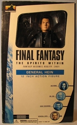 Final Fantasy Spirits Within 12 inch General Hein FADED Palisades, Final Fantasy, Action Figures, 2001, scifi, fantasy, video game