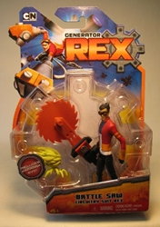 Generator REX 4 inch Battle Saw Circuitry Suit Rex
