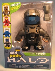 McFarlane Halo Odd Pods - ODST Rookie (grey) 4 inch McFarlane, Halo, Action Figures, 2009, scifi, video game