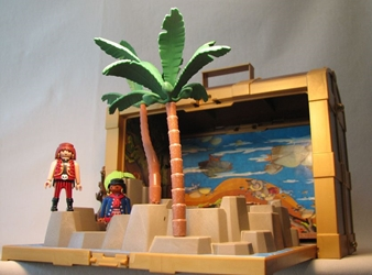 Playmobil 5737 Pirate Treasure Chest USED Playmobil, Pirates, Action Figures, 2004, adventure
