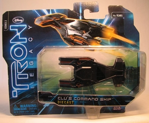 Tron Legacy - Die-cast Vehicle - Clus Command Ship  Spin Master, Tron, Action Figures, 2010, scifi, movie