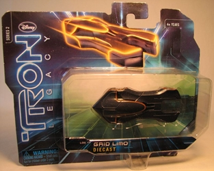 Tron Legacy - Die-cast Vehicle - Grid Limo Spin Master, Tron, Action Figures, 2010, scifi, movie
