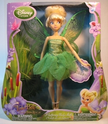 Disney Fluttering Fairies 10 inchTinker Bell doll  Disney, Tinker Bell, Dolls, 2010, animated, family brand