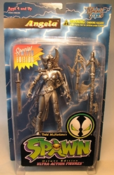 McFarlane Spawn 2  Angela (Pewter variant) McFarlane, Spawn, Action Figures, 1995, superhero, comic book