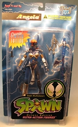 McFarlane Spawn 2  Angela Heavenly Fire (blue) McFarlane, Spawn, Action Figures, 1995, superhero, comic book