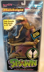 McFarlane Spawn 2  Malebolgia 9 inch (maroon) McFarlane, Spawn, Action Figures, 1995, superhero, comic book