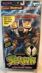 McFarlane Spawn 2  Badrock (blue) CRUNCH McFarlane, Spawn, Action Figures, 1995, superhero, comic book
